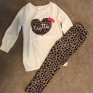 Cutie leopard set